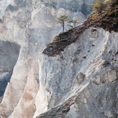 Drei Schluchten - Ruin Aulta, Rhein - 9. März 2007