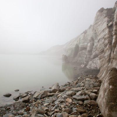 Gletschersee im Nebel - Caralin-See - 18. August 2010
