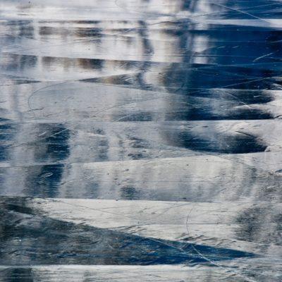Spiegelsegmente im Schwarzeis - Lago Bianco - 16. Dezember 2016